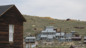 Owen was handed a booklet of questions pertaining to the history of Bodie State Historic Park.