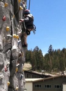 I liked wall climbing.