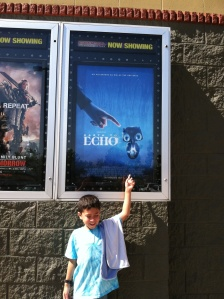 Escape from 102 degrees Day 3, July 2, 2014 Cinemark 14 Redding, CA