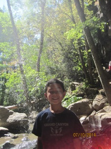 Memorable Moments: Discovering a waterfall and a cavern at Hedge Creek Falls.